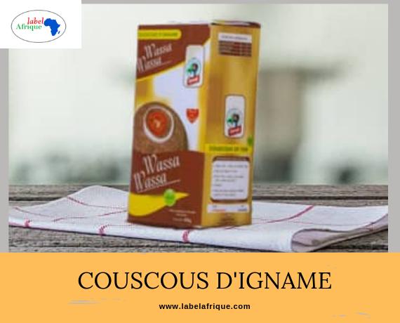 COUSCOUS D'IGNAME