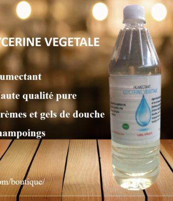 Glycérine végétale Bio