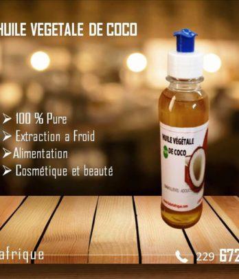 Huile de coco bio pure en litre et en ml