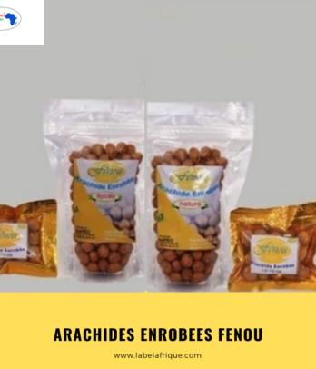 Arachides enrobées en sachet- Fênoubenin