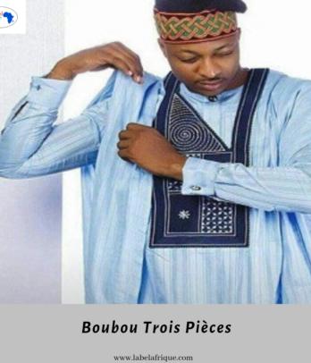 Boubou Homme 3 pièces – Ibilê
