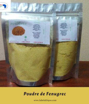 Poudre de Fenugrec du Benin, Togo, Kinshasa