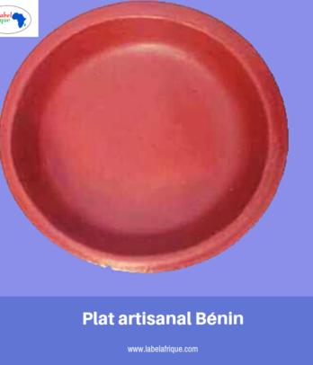 Plat artisanale poterie – Bénin