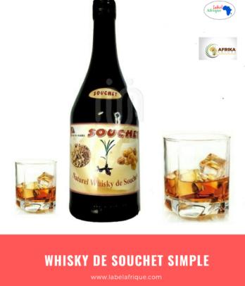 Le Whisky de souchet nature