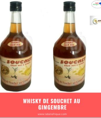 Whisky de souchet au Gingembre