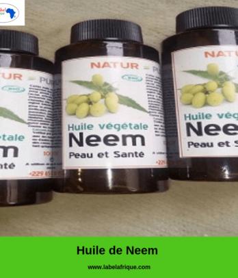 Huile végétale de Neem – Natur pure