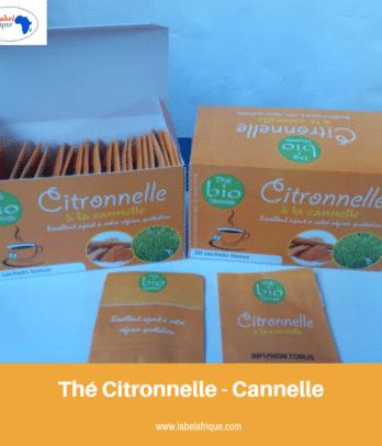 thé citronnelle cannelle benin, togo, bamako