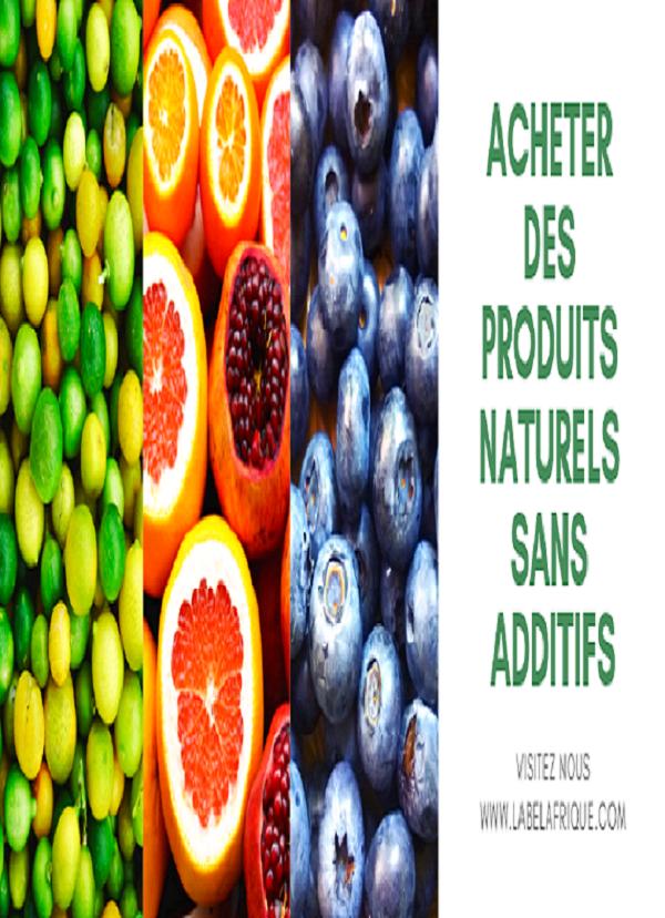 Produits naturels Afrique