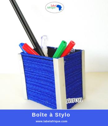 Boîte à stylo fait main