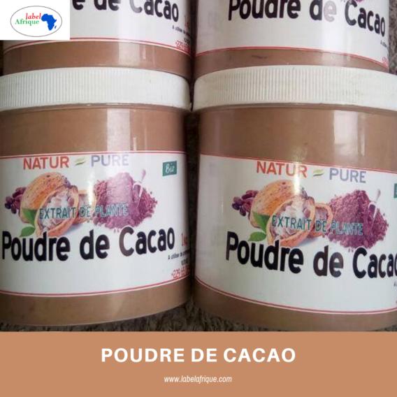 poudre de cacao utilisation