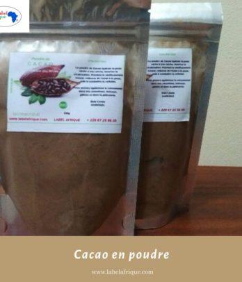 Cacao en poudre naturel au Benin
