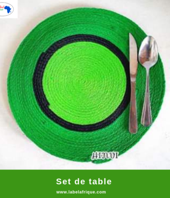 Sets de table artisanale en Polyester