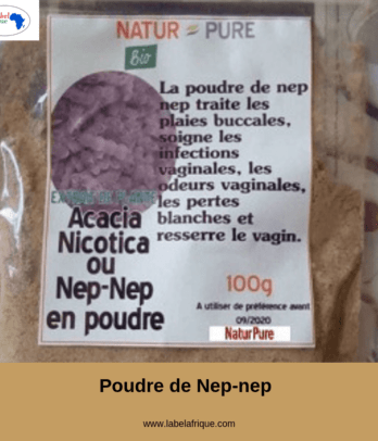 Poudre de Nep Nep, Acacia Nilotica Bénin Kinshasa, Paris