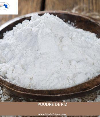 Poudre de Riz sans additif