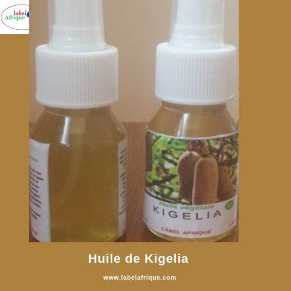 Huile végétale de Kigelia disponible en L et en 50ml
