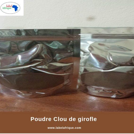 Le clou de girofle en poudre a acheter au Benin , Togo, Niger