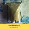 La poudre orange bio a Cotonou Paris et Lome