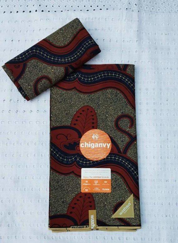 Tissu Wax Chiganvy africain