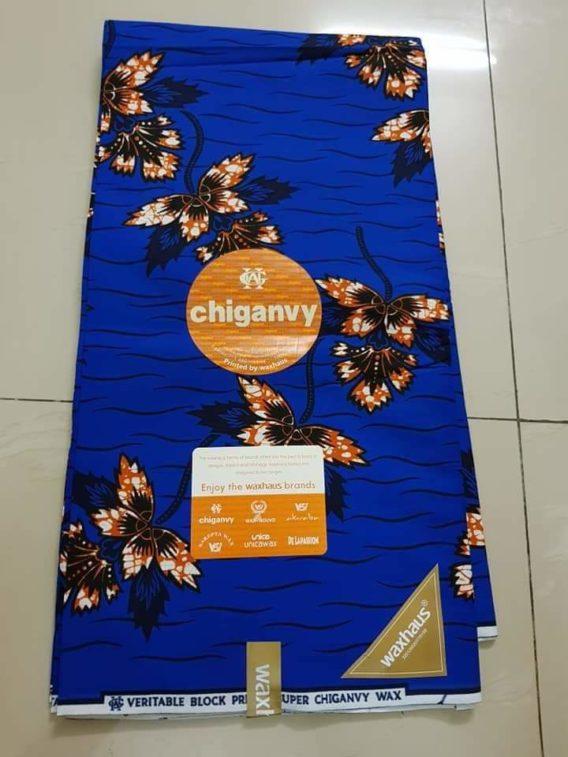 Tissu Wax Chiganvy Paris cotonou