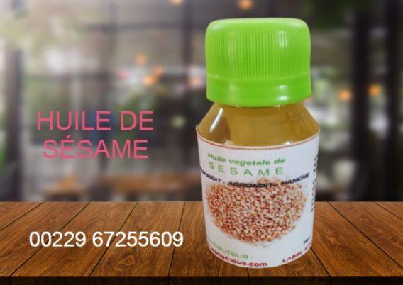 huile de sésame bénin, cotonou, Togo, calavi