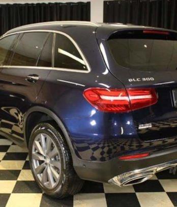 Mercedes GLC au Benin