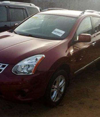 Nissan Rogue vente au benin
