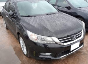 Honda Accord au Bénin 2015