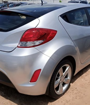 Hyundai Veloster au Bénin