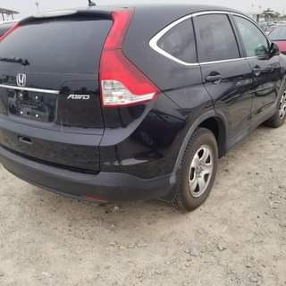 Honda CR-V au Bénin