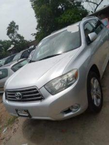 Read more about the article Toyota Highlander au Bénin et Togo