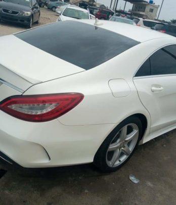 Mercedes CLS au Bénin 2015