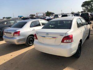 Toyota Yaris à Cotonou au Bénin